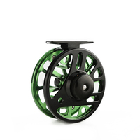 Fishing Reel 2+1BB 3/4 5/6 7/8WT Fly Reel Aluminum Reamer Fly Fishing Line Metal Reel Fishing tool Tackle Pesca