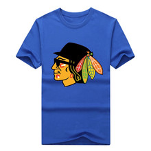 2017 Men's Chicago Blues Brothers Go Blackhawks T-Shirt Cool T Shirt Printed Rapids Casual Tees 100% cotton