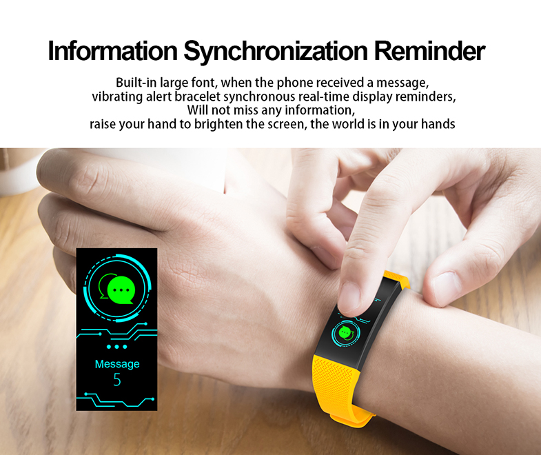 FROMPRO 18 Color Screen Smart Bracelet Heart Rate Monitor IP68 Waterproof Fitness Tracker Band Bluetooth 4.0 Sports Wristbands 9