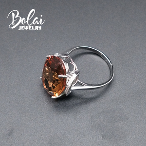 Image 5 - Bolaijewelry,Zultanite rings 925 sterling sliver created Color Change gemstone oval 13*18mm 12.1ct elegant design birthday gift