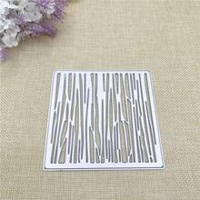 Julyarts Square Metal Cutting Die Stencil Dies Troqueles De Corte Scrapbooking Card Making Crafts Cut