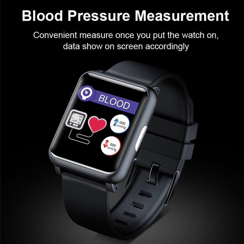 KINYO 2019 nouvelle montre de pression artérielle ecg ppg étanche bracelet intelligent femmes hommes sommeil tracker bracelet intelligent pk z02 montre intelligente - 4