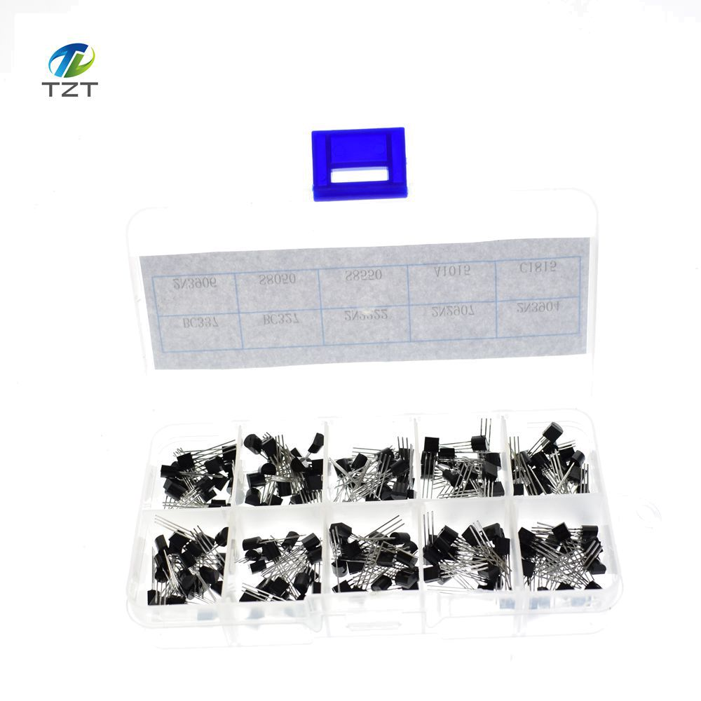 Box TO-92 Category Kit Mixed Transistor 10 Value Kit Package 200Pcs