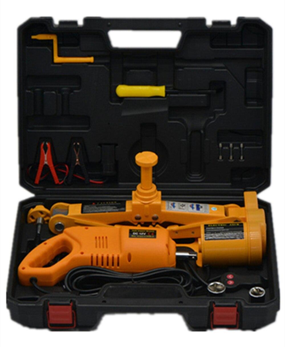 Prix pour Forte Nouvelle boîte D'emballage Max Hauteur De Levage 42 cm Électrique cric de voiture ensemble électrique clé avec jack pour Berline/SUV (CE ROHS)