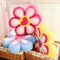45*9 cm Dos Desenhos Animados Presente de Casamento coração da Pétala Série Da Flor em casa decorar travesseiro de pelúcia Brinquedos de Pelúcia de Aniversário do bebê dom 1 Peças