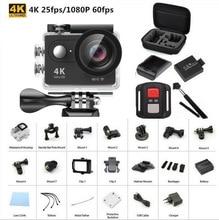 Original EKEN H9/H9R Acción cámara Ultra HD 4 K WiFi remoto 1080 P Deporte 2.0 LCD 170D lente Casco Cam ir impermeable cámara pro