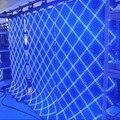 Leeman дисплей-полноцветный занавес дисплей использование прозрачный из светодиодов дисплей / мягкая из светодиодов экраны / гибкий занавес портативный мягкие из светодиодов