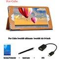 Для Куб ПУ защитный Кожаный Чехол Защитной Оболочки/Кожи Для Cube Iwork8 ultimate iwork8 Воздуха 8-дюймовый Tablet PC покоя