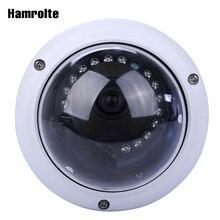 Hamrolte ONVIF IP Máy Ảnh 5MP 3MP 2MP Vandal proof Dome Nightvision Giám Sát IP Camera H.265 Thấp Lưu Trữ Phát Hiện Chuyển Động