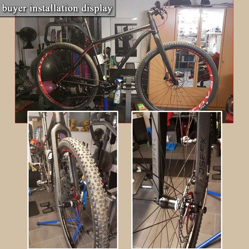"""Full Carbon Fiber Mountain Bike Fork 29er Rigid Tapered 1-1//8/"""" Straight Forks"""