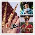 Acessórios Do Traje Hanfu rainha acessórios dedo armadura antiga imperatriz Chinesa berços do dedo