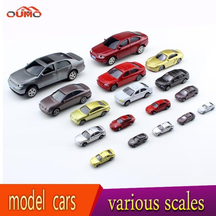12pcs Set Dollhouse Miniature Scale Model Cars All Size Model