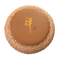 Round Pouf Ottoman Stool Rattan Seat Pad Floor Yoga Meditation Cushion Straw Rustic Tatami Modern Knitted Pouf Furniture Pouffe