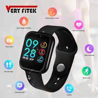 Veryfitek p70 relógio inteligente pressão arterial monitor de freqüência cardíaca ip68 pulseira de fitness relógio feminino masculino smartwatch para ios android