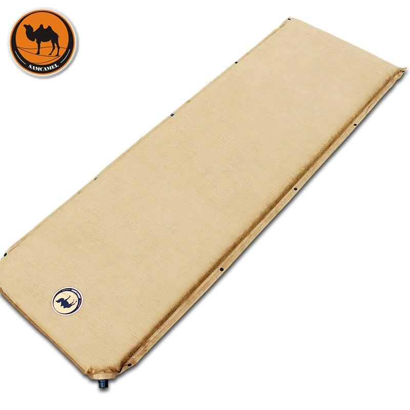 Camel 036 5 замшевая 5 см Автоматическая надувная подушка для кемпинга, обеда, толстый Открытый Дорожный матрас, есть 3 колроса на выбор travel mattress automatic inflatable cushionautomatic inflatable   АлиЭкспресс