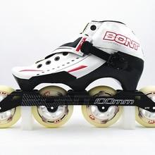 Bont Inline Skate Jet 3PT White Red Package speed skate inline skate
