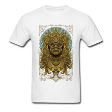 Balinese Barong Mens T-shirts Man Party T Shirts Reanimation Tops TShirt Newest Crewneck Normal Short Sleeve Pure Cotton Clothes