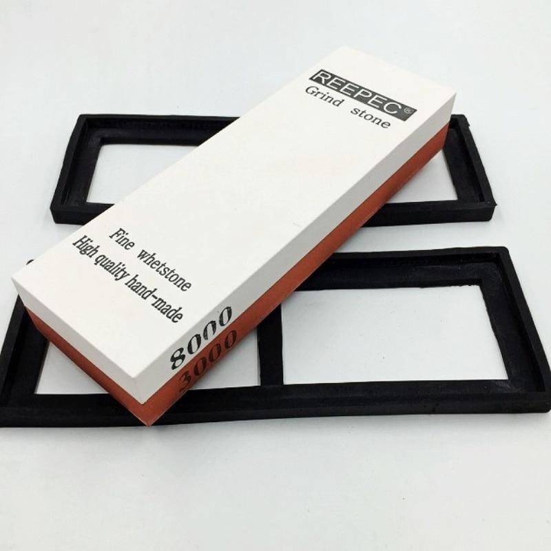 NUOTEN Brand Knife Sharpening Stone 3000/8000 Grit 2-Sided Whetstone Knife sharpener Water Stone