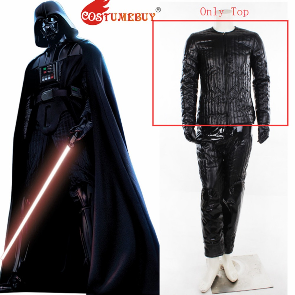 Star Wars Darth Vader Top pants black suit adult Halloween cosplay cos