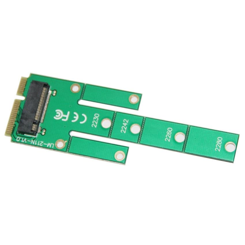 Great-Q NGFF M.2 B clave SSD a MSATA Adaptador PCIE MINI Tarjeta de - Cables de computadora y conectores - foto 2