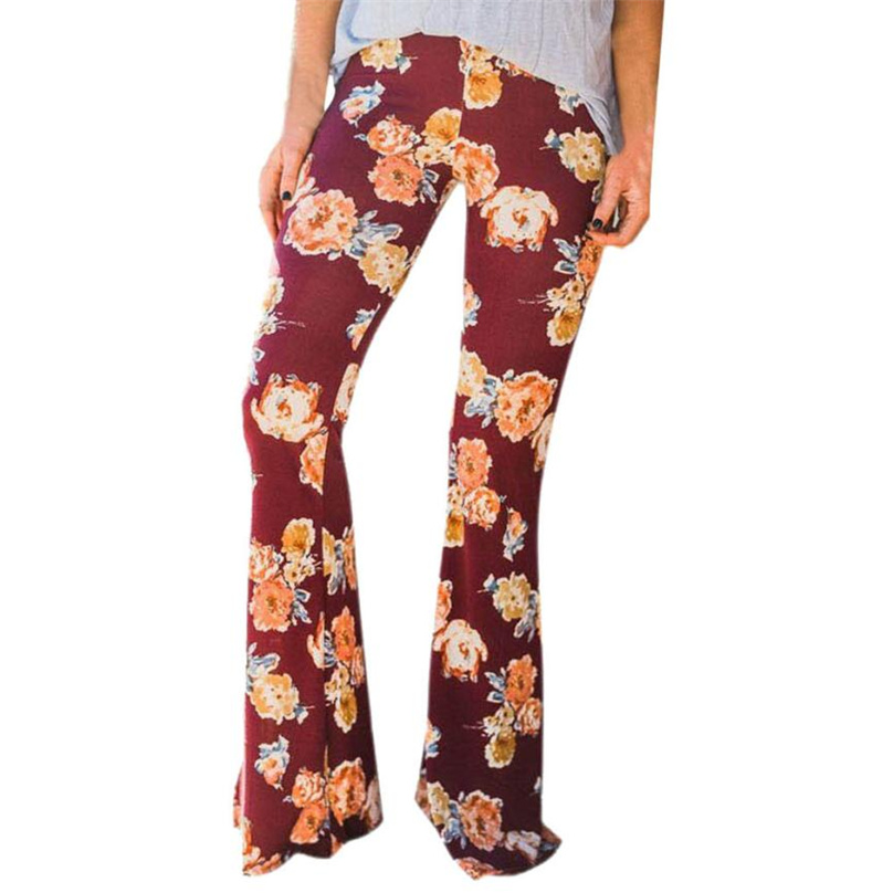 Autumn Plus Size Xl High Waist Pants Women New Fashion Spring Casual Flare Pant Trousers Work Pants Long Trousers Female Ff&r4 Hot Sale 50-70% OFF