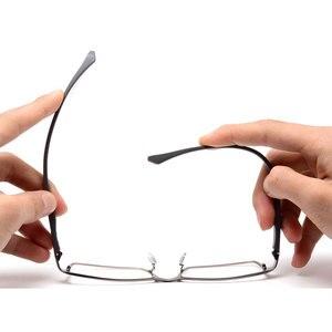 Image 2 - Toptical Fashion Glasses Frame Myopia Men Optical Eyeglasses Frame Commercial Eye Glasses Alloy Acetate Eyewear