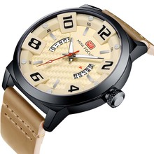 Luxury Brand MINI FOCUS Men Sport Watches Mens Quartz Clock Man Army Military Leather Wrist Watch Relogio Masculino