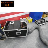 TIPTOP 3000w low lying fog machine water base smoke machine AC110/220V DMX512 control and remote control with Flight Case TP T65