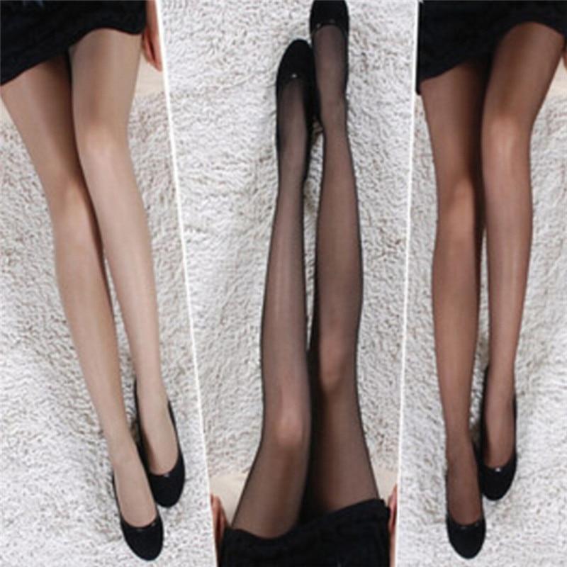 Super Elastic Magical Tights Silk Stockings Skinny Legs Black Sexy Pantyhose Prevent Hook Silk Medias Women Stocking