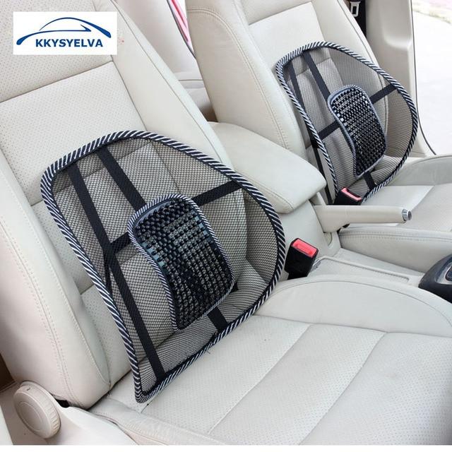 1PCS Car Seat Office Chair Massage Back Lumbar Support Mesh Ventilate Cushion Pad Auto Interior Accessories