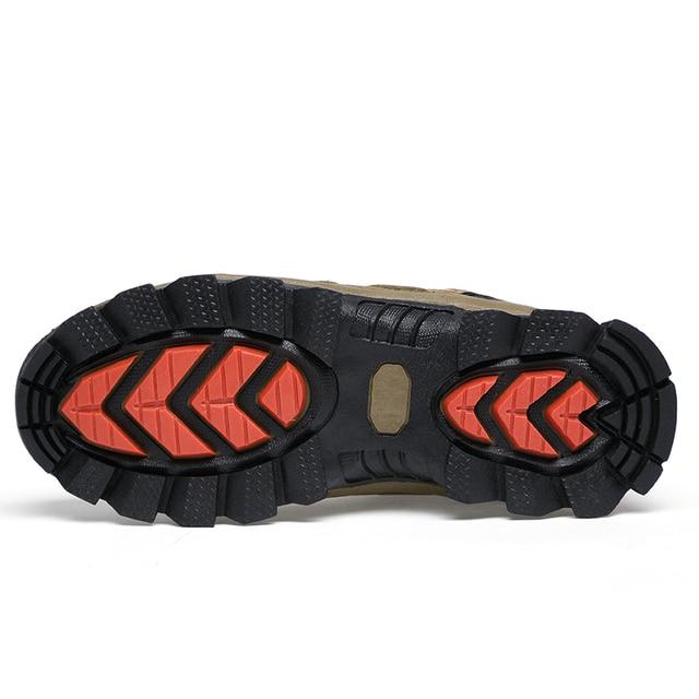 Super Warm Men's Cleats Casual Sneakers