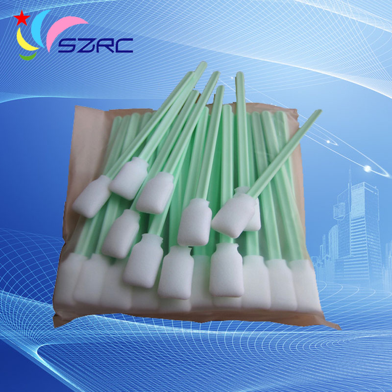 150 pcs Sponge sticks swabs Printhead cleaning swaps buds foam for Epson Roland Mimaki Mutoh All Large Format Solvent Printer for roland fj540 fj740 fj640 rs640 sj540 sj740 sj640 eco solvent printhead for dx4