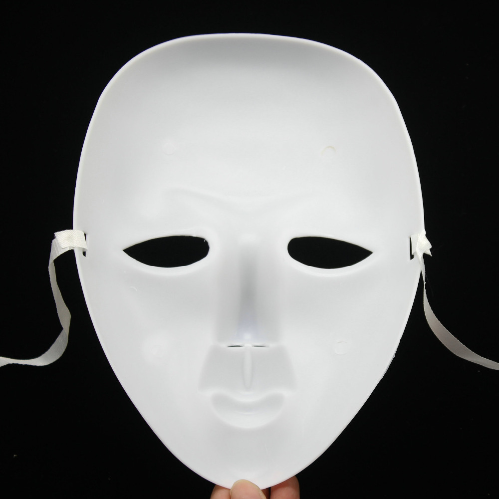 Popular White Face Mask Halloween-Buy Cheap White Face Mask ...