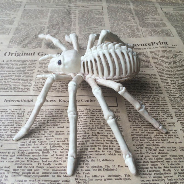 Funny Cute Animal Skeleton Model Mouse Rat/Spider/Scorpion Bones Halloween Party Decoration XH8Z AU14