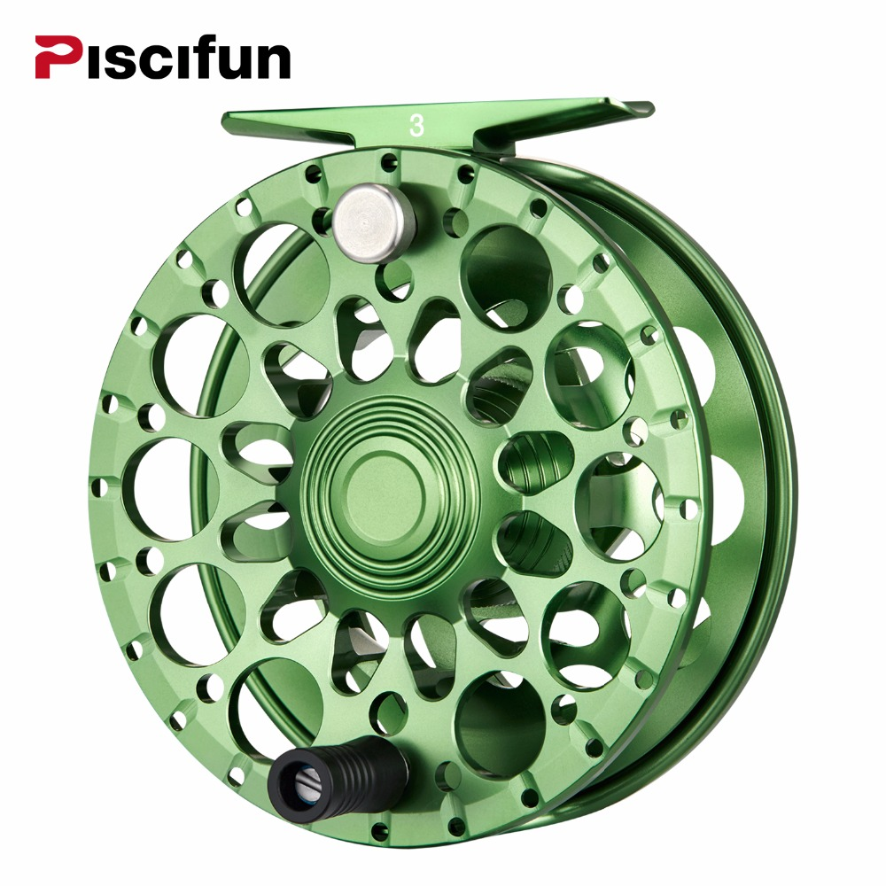 Piscifun Crest Fly Reel 5/6 7/8 9/10 Fully Sealed Drag CNC Machined Aluminium Alloy Right Left Hand Retrieve Fly Fishing Wheel nunatak original 2017 baitcasting fishing reel t3 mx 1016sh 5 0kg 6 1bb 7 1 1 right hand casting fishing reels saltwater wheel