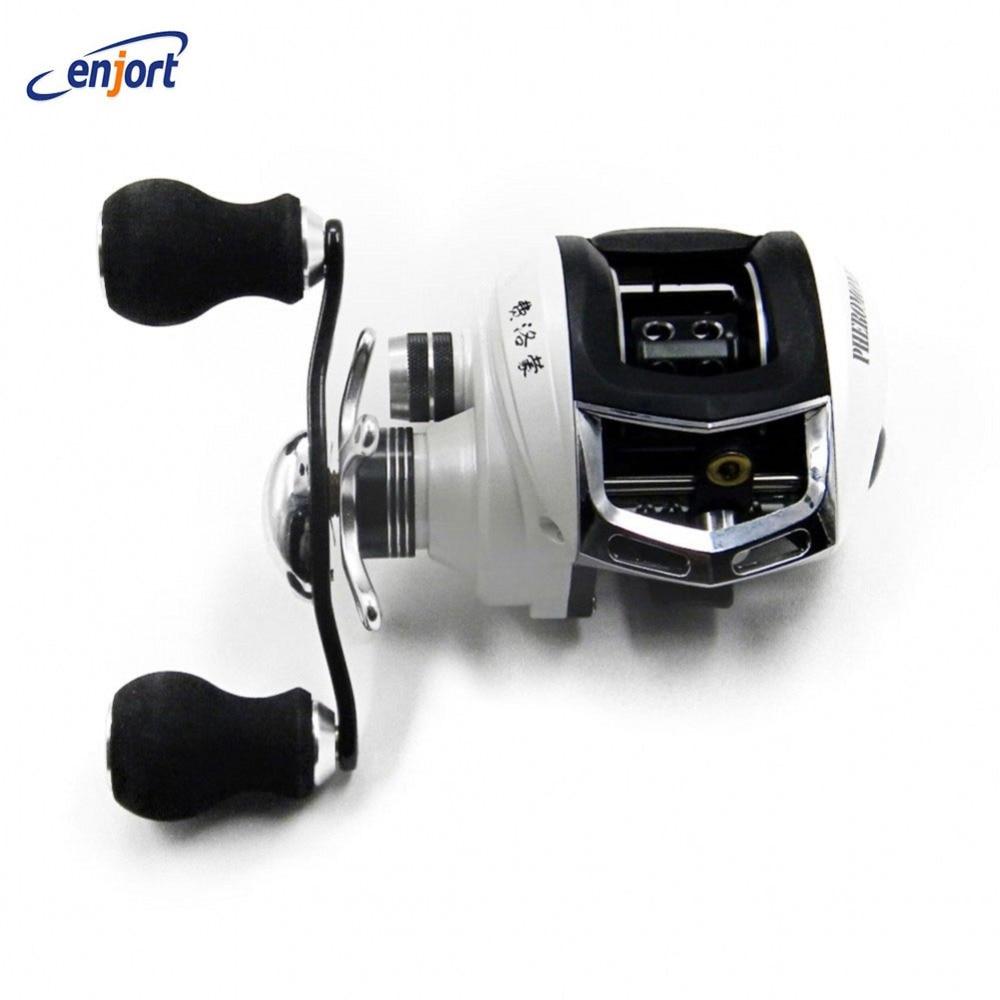 ФОТО Right/Left Hand Bait Casting Reel 14 BB  Bearings 6.3:1 Fishing Gear Water Drop Wheel Fishing Reel Lure Reel