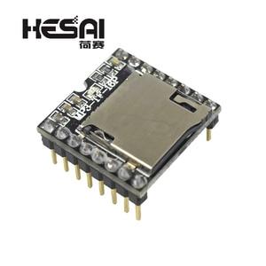 Image 2 - 2020!DFPlayer Mini MP3 Player Module MP3 Voice Decode Board Supporting TF Card U Disk IO/Serial Port/AD for arduino Diy Kit
