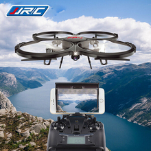 Rc drone versión actualizada dron u818a jjrc u819a 6-axis gyro helicóptero teledirigido de quadcopter wifi fpv hd cámara vs x400/x5sw