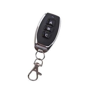 Image 4 - אלחוטי שלט רחוק מתג 1Key 2Key 3Key 4Key מוסך דלת EV1527 למידה קוד dc 6 V האוניברסלי אוטומטי רכב מעורר מערכת 433 MHz