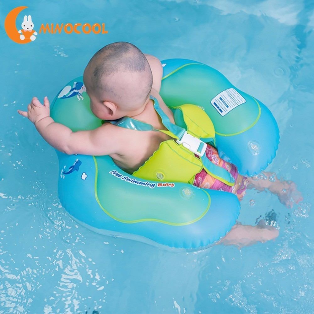 US $17.07 32% OFF|Infant Safety Inflation Swimming Ring Baby Kids Float  Swimming Pool Toy for Bathtub and Pools Swim Training-in Baby & Kids\'  Floats ...