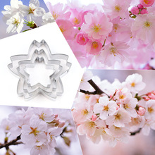 Stainless Steel Flower Cutting Mold Cherry Petal Clay Cutter Tools Ceramic Pottery DIY