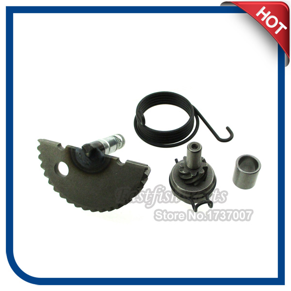 US $11 42 6% OFF| Kick Start Gear Assembly For GY6 49CC 50CC 80CC 100CC  Scooter Moped Compatible with 139QMB or P139QMB 4 stroke engine on