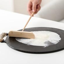 DIY Wooden Pancake Ring Household Rake long handle Breakfast Spreader Egg Maker Kitchen Accessories