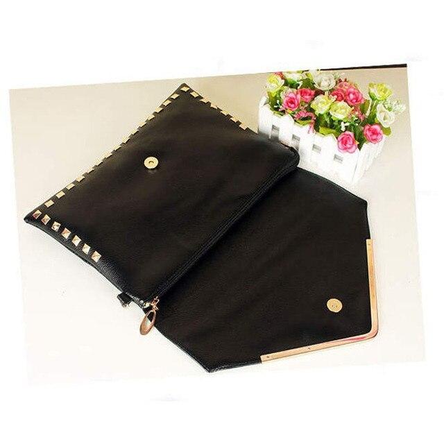 Fashion Women Trand Vintage Envelope Lady Hand bag  PU Envelope Bag Women's Day Clutch Elegant women handbags 45t