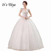 Real Photo Free Shipping Vestidos De Novia Red White Crystal V Neck Wedding Gowns Princess Lace