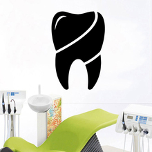 цена на Creative tooth Wall Sticker Animal Lover Home Decoration for Living Room Decoration Vinyl Art Decal