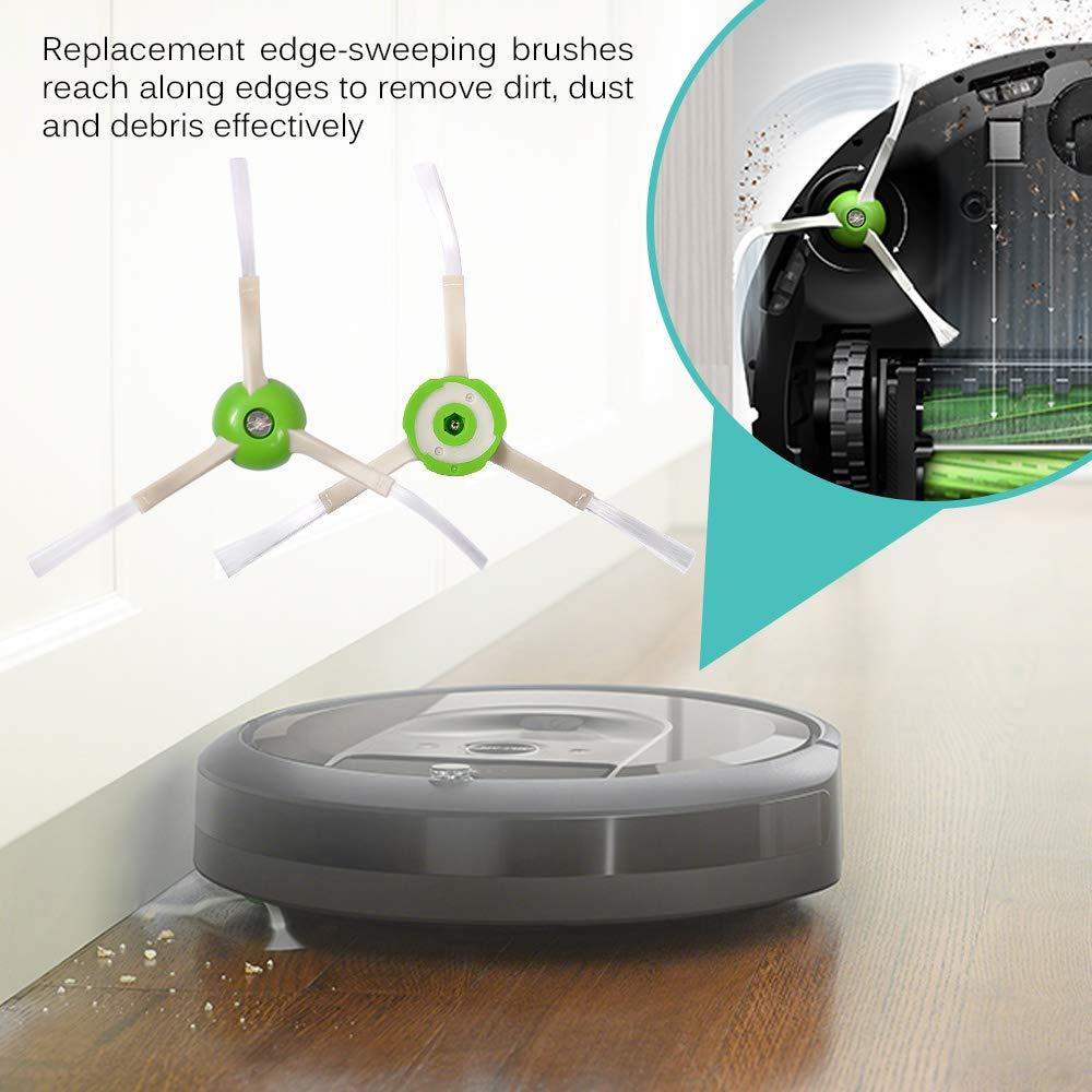 For Irobot Roomba I7 Side Brush Replacement Kit I7+/I7 Plus E5 E6 E7 Vacuum Cleaner Brush