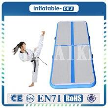 Doprava zdarma 3x1x0.1m (9.8ft * 3.3ft * 0.33ft) Nafukovací pneumatická tělocvična zařízení Tumble Track Yoga Mat Nafukovací gymnastika Mat