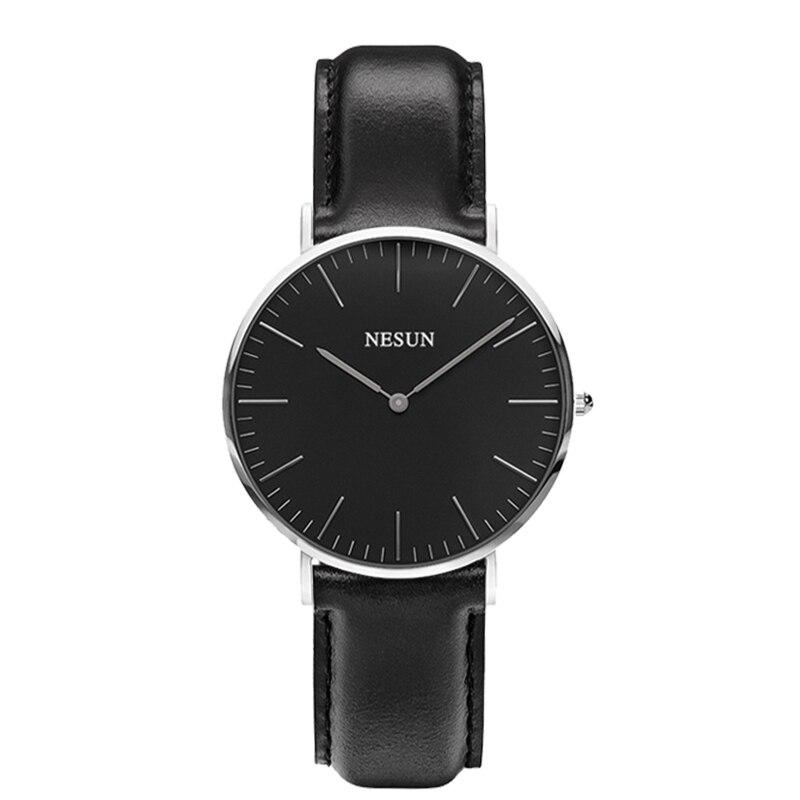 Switzerland Nesun Watch Women Luxury Brand Japan MIYOTA Quartz Movement Women Watches Genuine Leather Waterproof Clock N8801-LW4