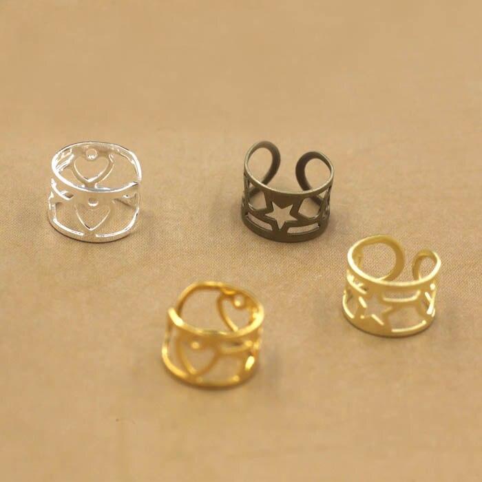 9mm Ear Cuff Wrap Earrings Jewelry Piercing Clip On ...